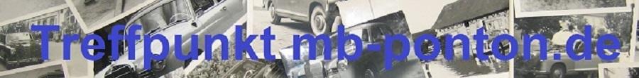 Treffpunkt mb-ponton.de Wir fahren Mercedes Ponton